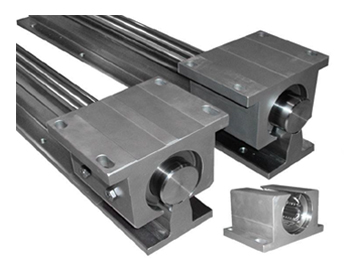 Motion Control - Custom Components, Shafting-Pillow Blocks, Linear Bearings